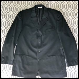 Other - VERSINI Suit Jacket Blazer Xl Black